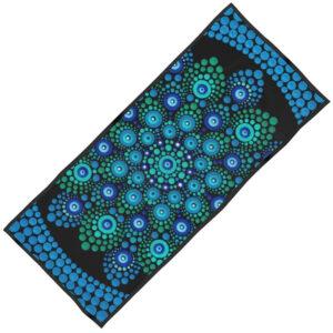 'Azul' Designed Beach Towel
