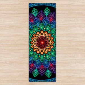 Sunshine In A Flower Yoga Mat