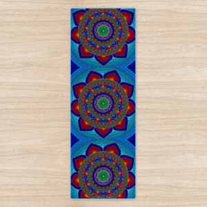 """Sun Catcher"" Eco Yoga Mat No.2"