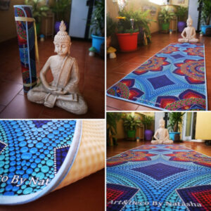 Sun Catcher Yoga Mat – Art&Deco By Natasha