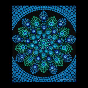 Couverture de jet 'Azul'