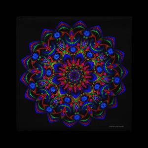 Taie d'oreiller premium 'Mystic Spring Flower'