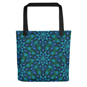 Kleine Einkaufstasche 'Azul Mix'