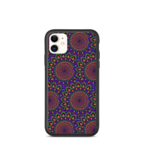 Capa biodegradável 'Torus In A Galaxy Mix' para iPhone