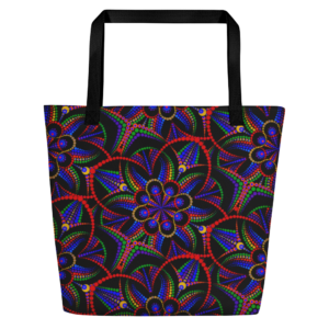 Bolso tote grande 'Portals Of Angles Mix'