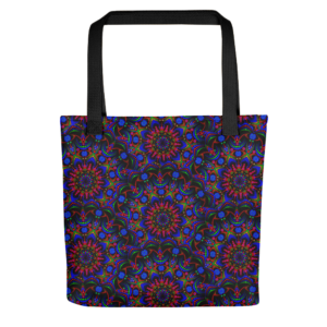 'Mystic Spring Flower' Small Tote Bag