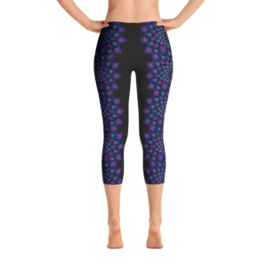 Mamasita Design No. 1 leggings capri negros