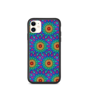'Sunshine In A Flower Nahastu 'biodegradagarria iPhone Case