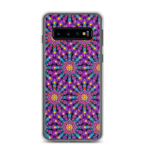"جراب Samsung ""Purple Dot Mandala Mix"""