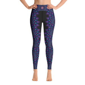 Mamasita Design No. 1 Black Yoga Leggings