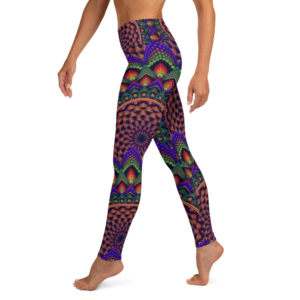 'Torus In A Galaxy' Yoga Leggings