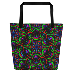 Bolso de mano grande 'Night Flower'
