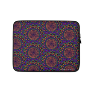 Torus In A Galaxy Mix Laptop Sleeve