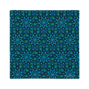 Kuddfodral '' Azul Mix ''