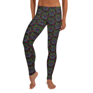 Leggings 'Nigth Flower'