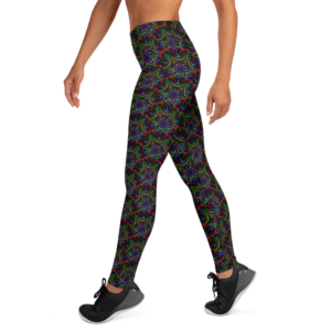 'Nigth Flower' Yoga Leggings