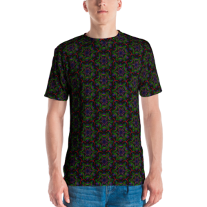 Camiseta masculina 'Night Flower Mini Mix'
