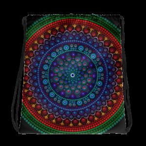 Happy Drawstring bag