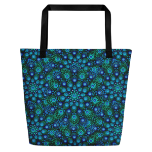 Große Einkaufstasche 'Azul Mix'