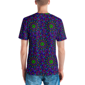Camiseta masculina 'Peacock Flower Mix'