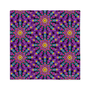 Fronha Premium 'Purple Dot Mandala'